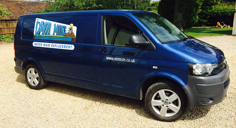Mr Mole Company Van